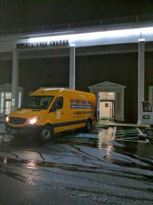 911-Restoration-Van-Night-time-water-damage-repair